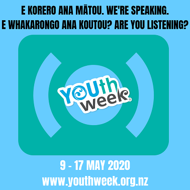 Youth Week 2020 Theme & Date - Ara Taiohi